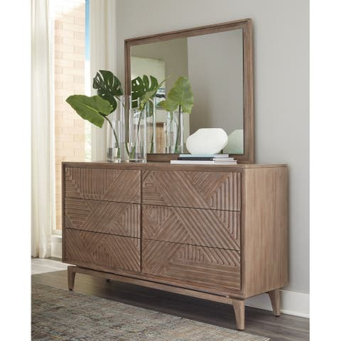 Racine Sandstone 6-drawer Dresser