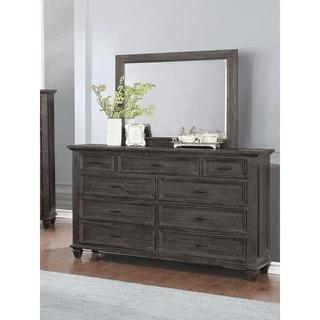 Minton Weathered Carbon 9-drawer Dresser