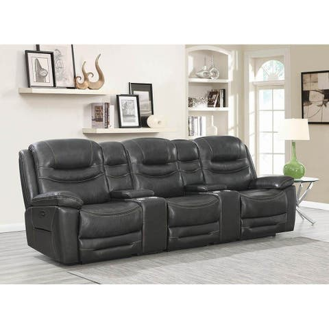 Nell Power^2 Home Theater Sofa with Headrest