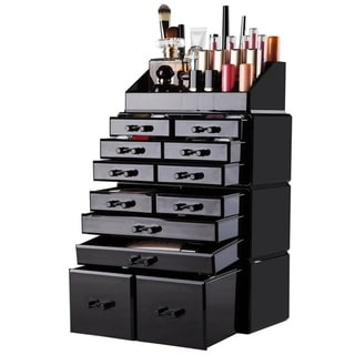 Link to 4Pcs/Set Acrylic Jewelry & Cosmetic Storage Display Boxes Makeup Organizer Similar Items in Makeup Brushes & Cases