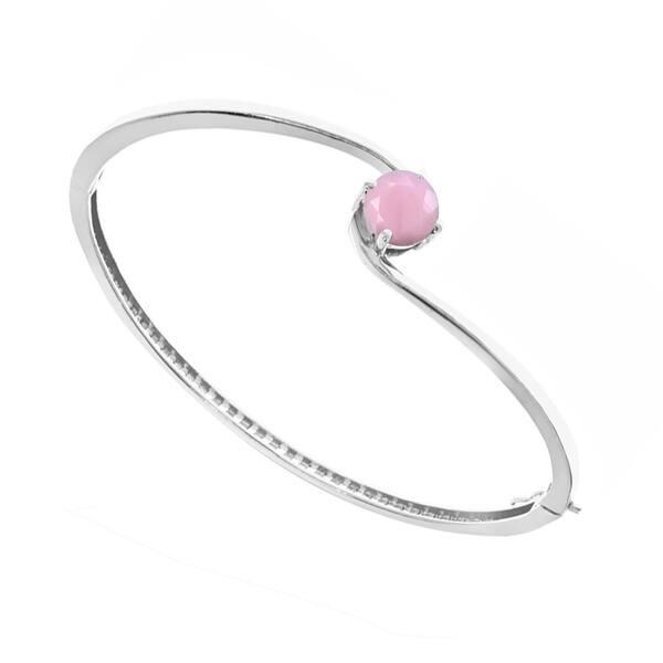 Banglebracelet pink opalescent