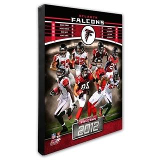 Atlanta Falcons 16x20 Stretched Canvas