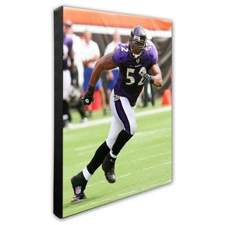 Ray Lewis 16x20 Stretched Canvas