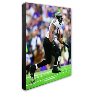 Ray Lewis 20x24 Stretched Canvas