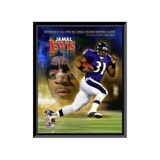 Jamal Lewis 11x14 Framed Print