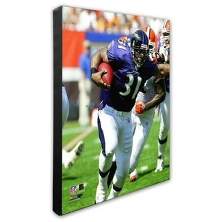 Jamal Lewis 16x20 Stretched Canvas