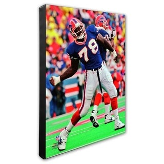 Bruce Smith 20x24 Stretched Canvas