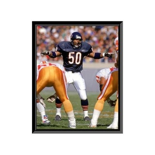 Mike Singletary 16x20 Framed Print