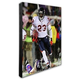 Devin Hester 16x20 Stretched Canvas
