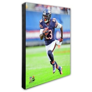 Devin Hester 20x24 Stretched Canvas