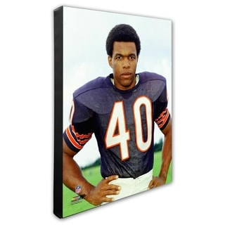 Gale Sayers 20x24 Stretched Canvas