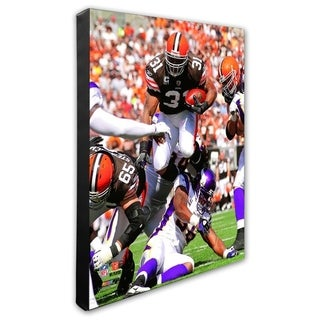 Jamal Lewis 20x24 Stretched Canvas