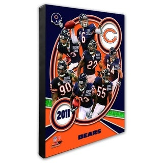 Chicago Bears 16x20 Stretched Canvas