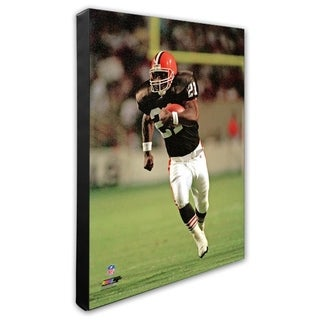 Earnest Byner 20x24 Stretched Canvas
