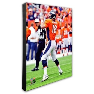 Peyton Manning 20x24 Stretched Canvas