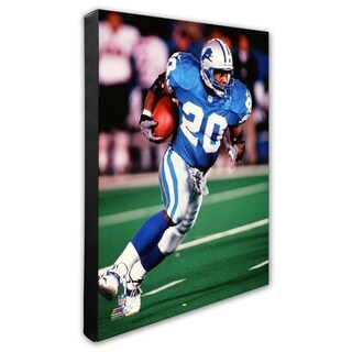 Barry Sanders 20x24 Stretched Canvas