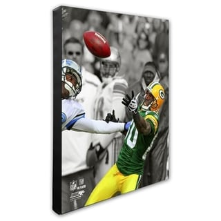 Donald Driver 20x24 Stretched Canvas