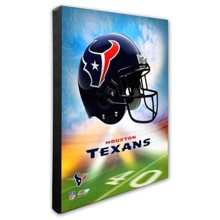 Houston Texans 16x20 Stretched Canvas