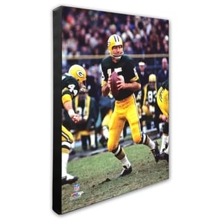 Bart Starr 20x24 Stretched Canvas