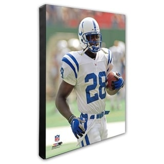 Marshall Faulk 20x24 Stretched Canvas