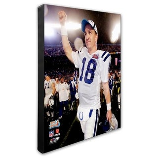 Peyton Manning 16x20 Stretched Canvas