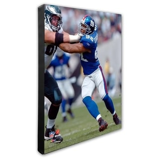 Michael Strahan 20x24 Stretched Canvas