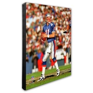 Drew Bledsoe 20x24 Stretched Canvas