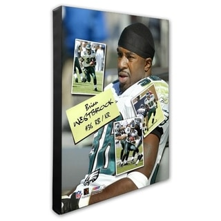 Brian Westbrook 16x20 Stretched Canvas