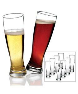 Anchor Hocking Grand Pilsner Beer Glasses (Set of 8)