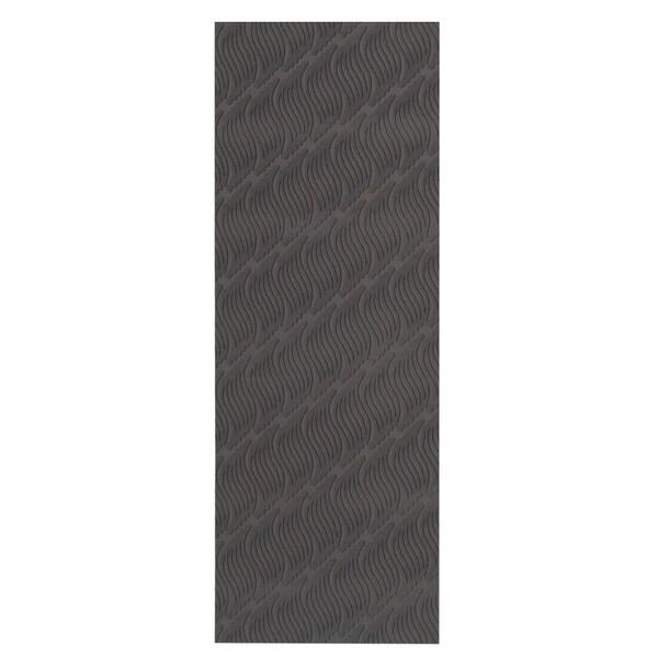 eCarpetGallery Machine Woven Bellisima Black Polyester Rug - 2'2 x 6'0