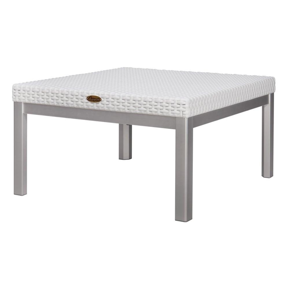 Fantastic Russ Rattan Coffee Table With Aluminum Legs Theyellowbook Wood Chair Design Ideas Theyellowbookinfo