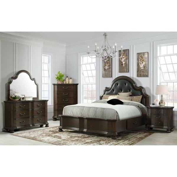 Picket House Furnishings Serena 2-Drawer Platform Storage 6PC Bedroom Set