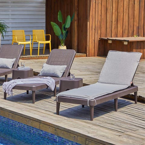 Mahina Rattan Chaise Lounge by Havenside Home