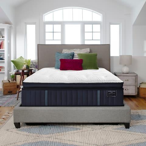 Stearns & Foster Estate 15-inch Plush Euro Pillowtop Mattress Set