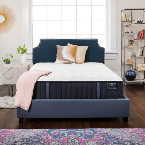 Stearns & Foster Estate 14.5-inch Plush Innerspring Mattress Set