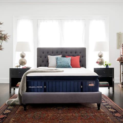 Stearns & Foster Reserve 16-inch Plush Euro Pillowtop Mattress Set