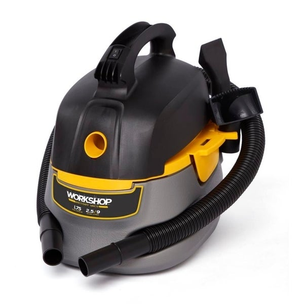 RIDGID Portable Wet//Dry Vacuum Blower 4 Gal 5.0-Peak HP High Power Car Valet