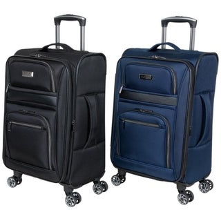 "Link to Kenneth Cole Reaction ""Rugged Roamer"" 20"" Lightweight Softside Expandable 8-Wheel Spinner Carry-On Suitcase Similar Items in Carry On Luggage"