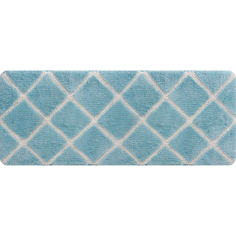 17 by 24 Kess InHouse Susan Sanders Blue Water Teal Memory Foam/Bath Mat