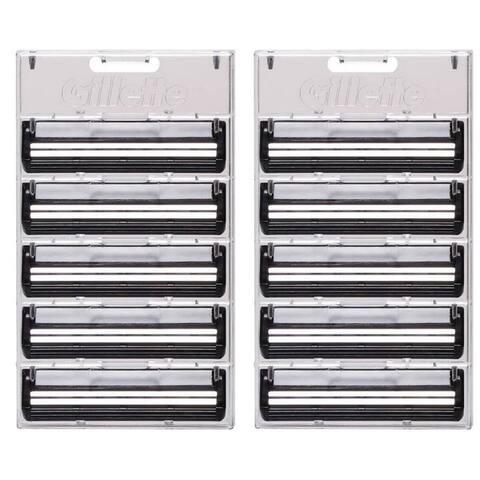 Gillette Trac II Plus Refill Razor Blade Cartridges, Bulk Packaging, 10 Count