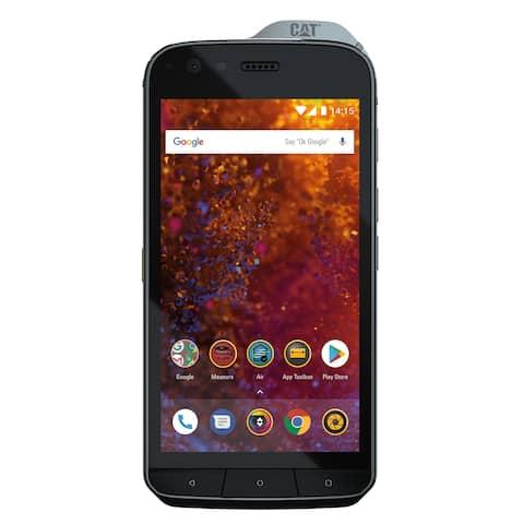 CAT PHONES S61 Rugged Waterproof Smartphone with integrated FLIR camera.
