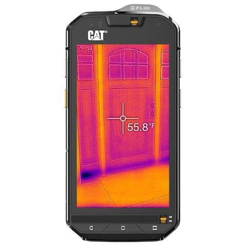 CAT PHONES S60 Rugged Waterproof Single SIM Smartphone with Integrated FLIR Camera