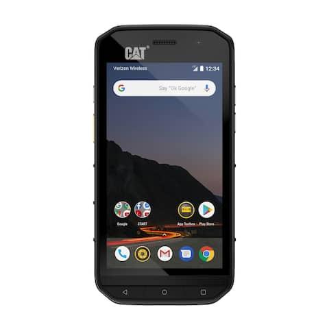 CAT PHONES S48c Unlocked Rugged Waterproof Smartphone - Verizon Network Certified (CDMA) - U.S. Optimized (Single Sim)