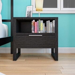 Porch & Den Rosewood Nile 1-drawer Nightstand