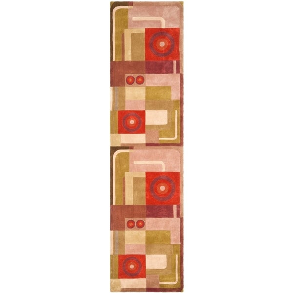 Safavieh Handmade Rodeo Drive Niang Mid-Century Modern Abstract Wool Rug. Opens flyout.