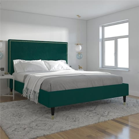CosmoLiving by Cosmopolitan Audrey Upholstered Bed