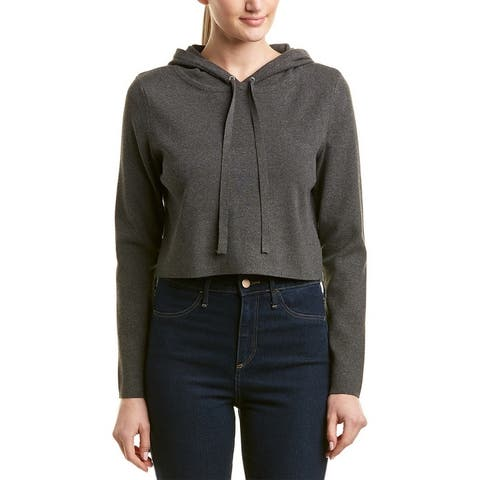 Milly Cropped Wool-Blend Sweater