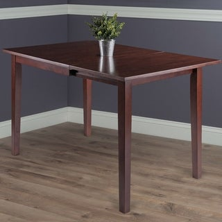 Copper Grove Petronella Walnut Brown Dining Table with Dropleaf Extension