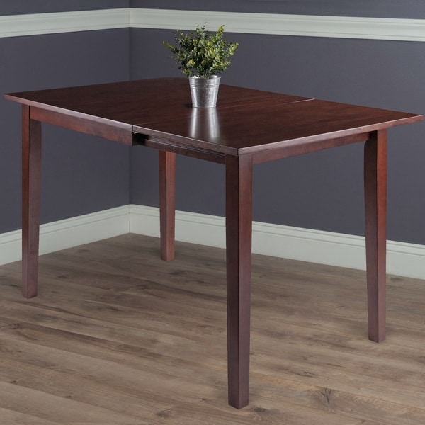 Copper Grove Petronella Walnut Brown Dining Table with Dropleaf Extension - N/A. Opens flyout.