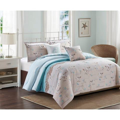 Harper Lane Sandpiper 5-piece Comforter Set